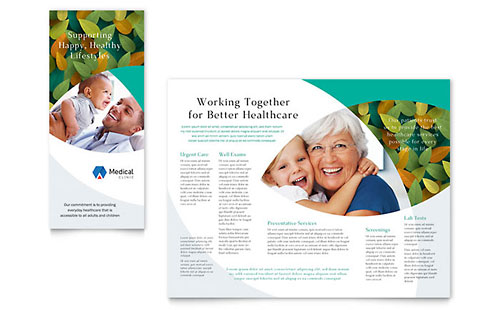 Doctor's Office Tri-Fold Brochure Template