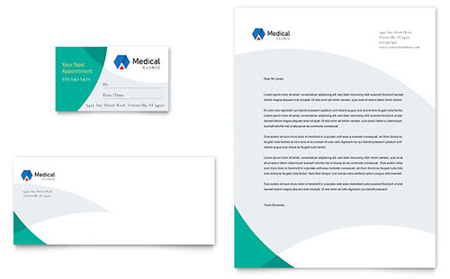 Doctor's Office Business Card Template