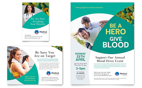 Doctors Office Flyer & Ad Template