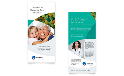 Doctor's Office Rack Card Template
