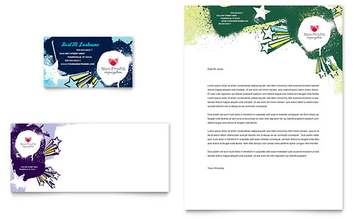 Child Advocates - Business Card & Letterhead Template