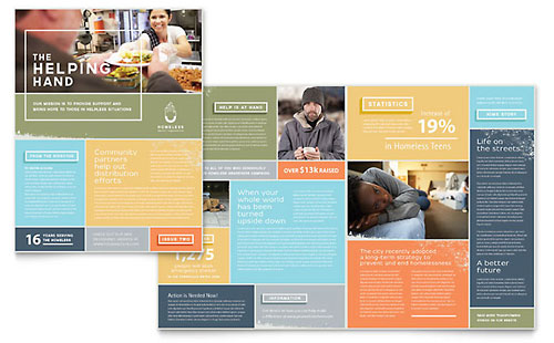 Homeless Shelter Newsletter Template