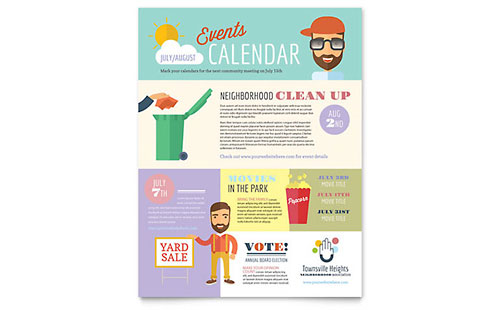 Homeowners Association Flyer Template