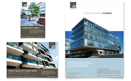 Architect Flyer & Ad Template