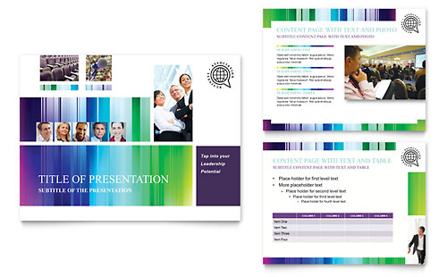 Business Leadership Conference PowerPoint Presentation Template