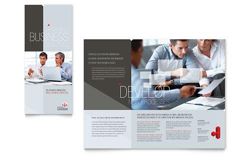 Corporate Business Tri Fold Brochure Template