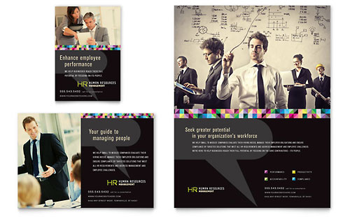 Human Resource Management Flyer & Ad Template