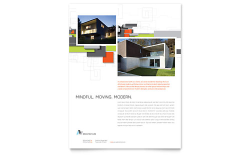 Architectural Design Flyer Template