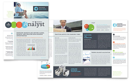 Business Analyst Newsletter Template