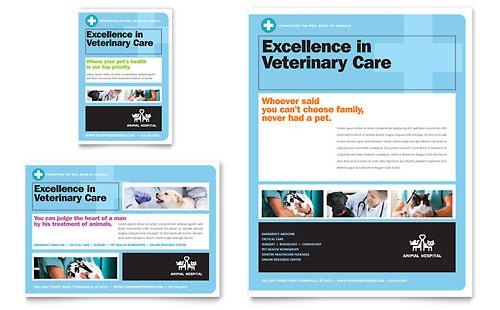 Animal Hospital - Flyer & Ad Template