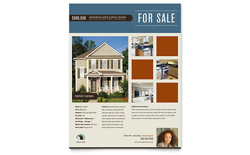 Residential Realtor - Flyer Template