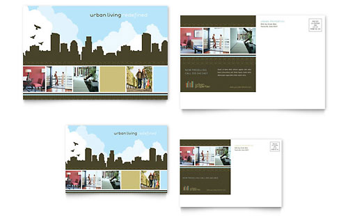 Urban Real Estate - Postcard Template