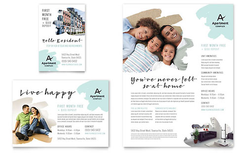 Apartment Flyer & Ad Template