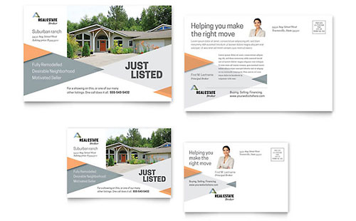 Realtor Postcard Template