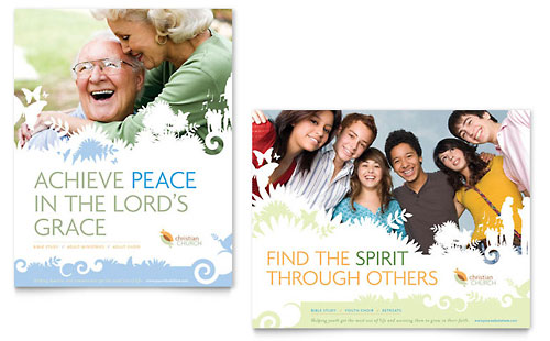 Christian Church Poster Template