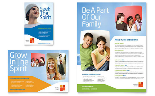 Church Youth Ministry Flyer & Ad Template