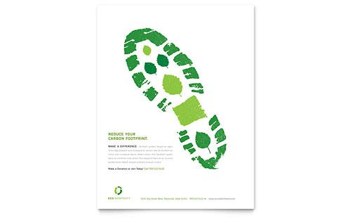 Environmental Non Profit Flyer Template