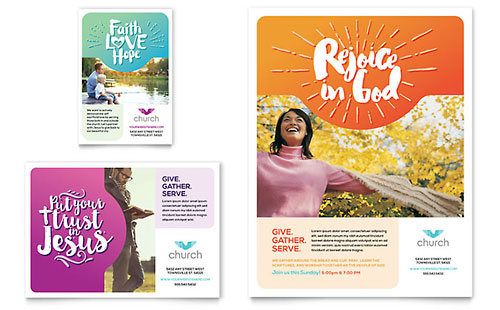 Church - Flyer & Ad Template