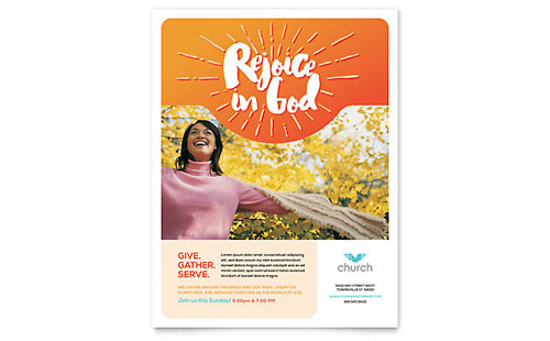 Church - Sample Flyer Template