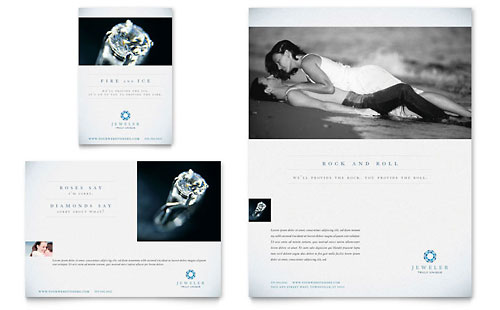 Jeweler & Jewelry Store Flyer & Ad Template