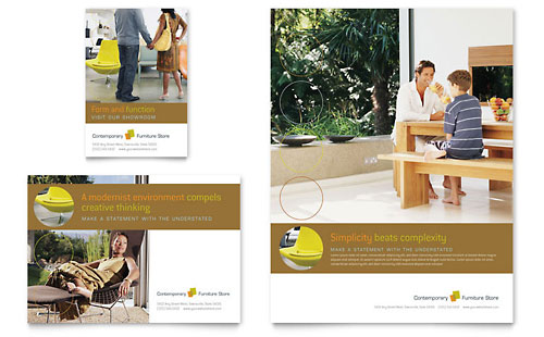 Furniture Store Flyer & Ad Template