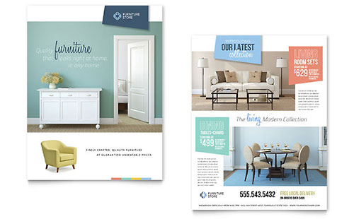 Home Furnishings Datasheet Template