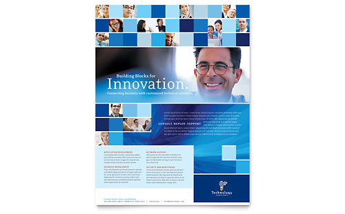 Technology Consulting & IT Flyer Template