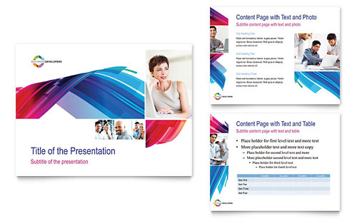 Software Solutions PowerPoint Presentation Template