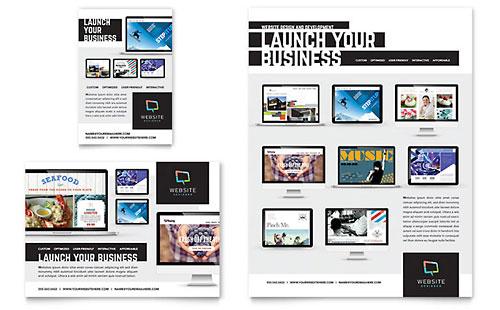 Website Designer - Flyer & Ad Template