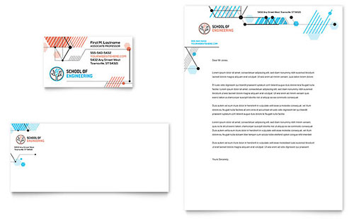 Computer Engineering Stationery Template