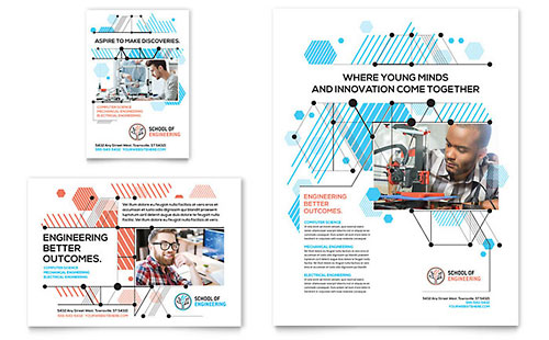 Computer Engineering Print Ad Template