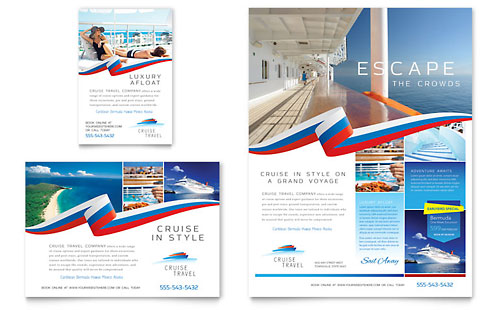 Travel Tourism Flyers – Tourism Brochure Template