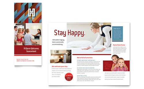 Hotel Brochure Template - Pages