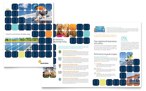 Solar Energy Brochure Template