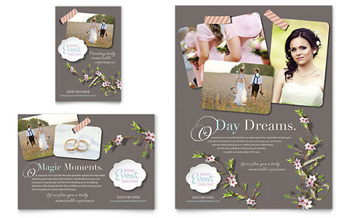 Wedding Planner Flyer & Ad Template