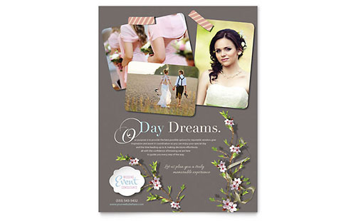 Wedding Planner Flyer Template