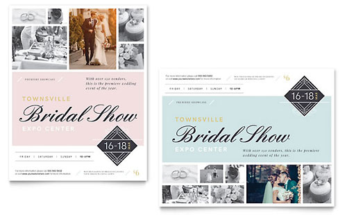 Bridal Show - Sample Poster Template
