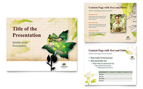 Landscape Design - PowerPoint Presentation Template