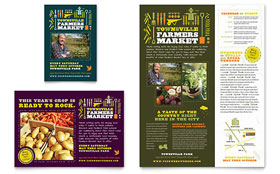 Farmers Market - Flyer & Ad