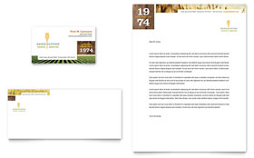 Farming & Agriculture - Business Card & Letterhead