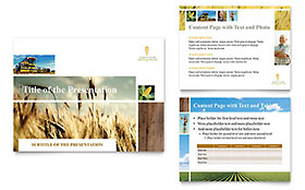 Farming & Agriculture - PowerPoint Presentation Template