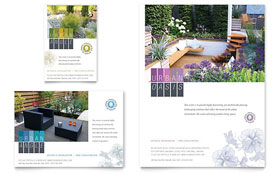 Urban Landscaping - Flyer & Ad