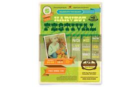 Harvest Festival - Flyer Template