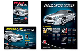 Auto Detailing - Flyer & Ad Template