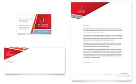 Aviation Flight Instructor - Business Card Template