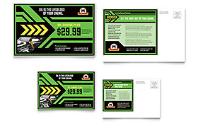 Oil Change - Postcard Template