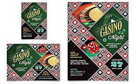 Casino Night Flyer & Ad