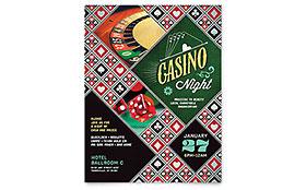 Casino Night - Flyer Template