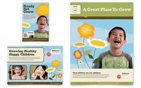 Child Development School - Flyer & Ad Template