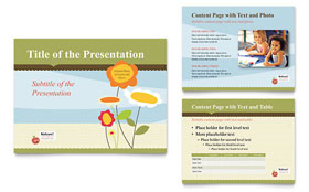 Child Development School - PowerPoint Presentation Template